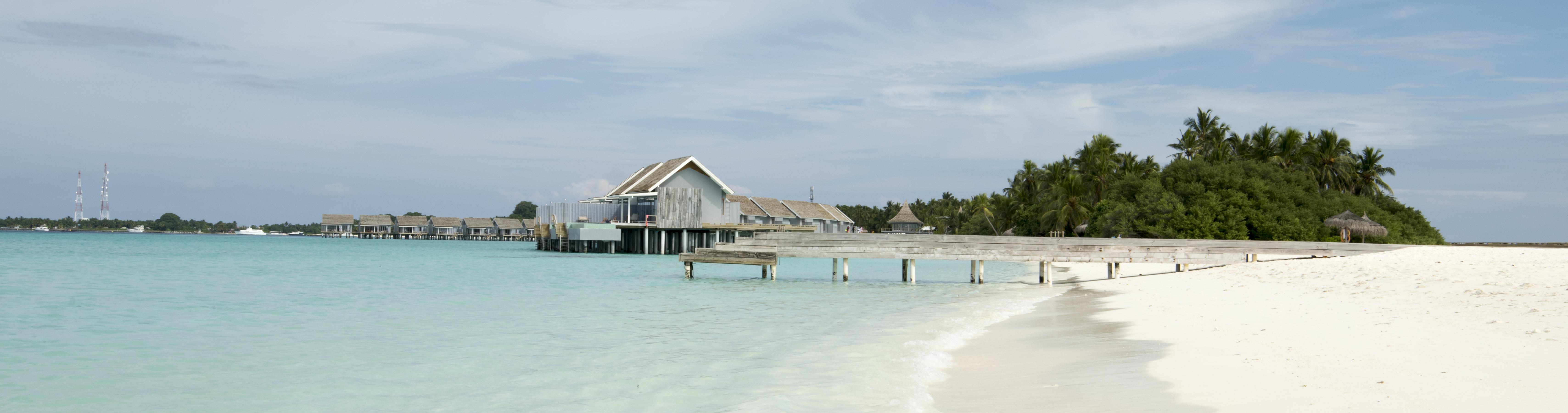 water-huts